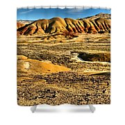John Day Oregon Landscape Shower Curtain