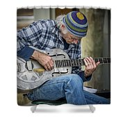 John Decker Shower Curtain