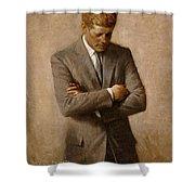 John F Kennedy 2 Shower Curtain