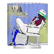 John Ford The Searchers Set Monument Valley Arizona 1955-2013 Shower Curtain