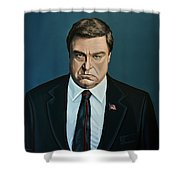 John Goodman Shower Curtain
