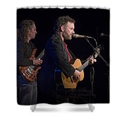 John Gorka And Michael Manring In Concert Shower Curtain