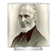 John Greenleaf Whittier (1807-1892) Shower Curtain