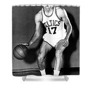 John Havlicek Of The Boston Celtics 1960s Shower Curtain