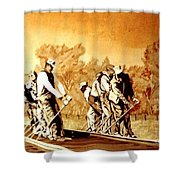 John Henry Shower Curtain