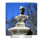 John Howard Payne -- Home Sweet Home Shower Curtain