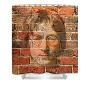 John Lennon 2 Shower Curtain