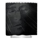 John Lennon 2 Shower Curtain