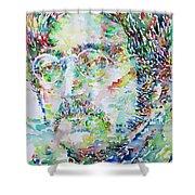 John Lennon Portrait.2 Shower Curtain
