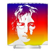 John Lennon The Legend Shower Curtain