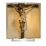 John Paul Jesus Shower Curtain