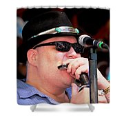 John Popper Shower Curtain