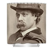John Sidney Woollett (1845-1917) Shower Curtain