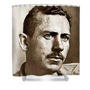 John Steinbeck American Author Circa 1938 Shower Curtain