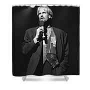 Musician John Tesh Shower Curtain