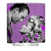 John Wayne And Marlene  Dietrich Publicity Photo The Spoilers 1942 Shower Curtain
