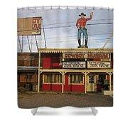 John Wayne Cowboy Museum Tombstone Arizona 2004 Shower Curtain