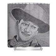 John Wayne Shower Curtain