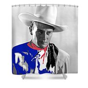 John Wayne Publicity Photo Overland Stage Raiders 1938 Shower Curtain