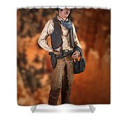 John Wayne The Cowboy Shower Curtain