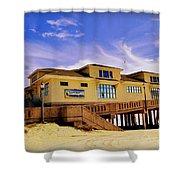 Johnnie Mercer Pier Shower Curtain
