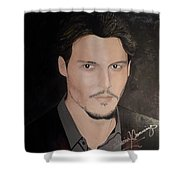 Johnny Depp - The Actor Shower Curtain