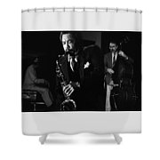 Johnny Griffin 3 Shower Curtain
