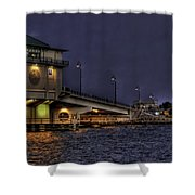 John's Pass Bridge Shower Curtain