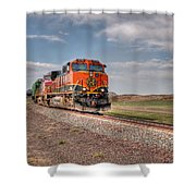 Joint Line Mixed Shower Curtain