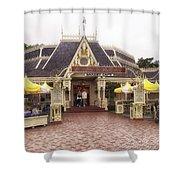 Jolly Holiday Cafe Main Street Disneyland 02 Shower Curtain