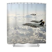 Jolly Rogers Shower Curtain