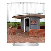 Jones Beach Golf Shower Curtain