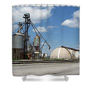 Jones Island 2 Shower Curtain