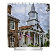 Jonesboro Methodist Church Shower Curtain