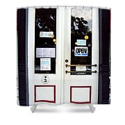 Jonesborough Tennessee Main Street Shop Shower Curtain