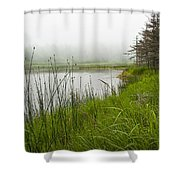 Jordan Pond In Acadia National Park Shower Curtain