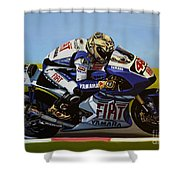 Jorge Lorenzo Shower Curtain