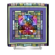 Jornada Mogollon Kaleidoscope Shower Curtain
