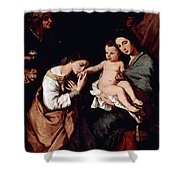 Jos De Ribera Shower Curtain