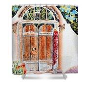 Josefina's Old Gate Shower Curtain