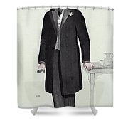 Joseph Chamberlain (1836-1914) Shower Curtain