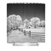 Joseph Poffenberger Farm 8d00231 Shower Curtain