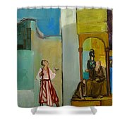Joseph Sent To His Brothers Shower Curtain