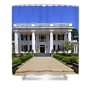 Joshua Hill House In Madison Georgia Shower Curtain