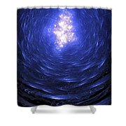 Journey Back To The Surface Shower Curtain