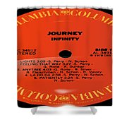 Journey - Infinity Side 1 Shower Curtain