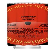 Journey - Infinity Side 2 Shower Curtain