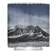 Journey Into The Realms Above Shower Curtain