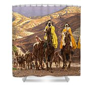 Journey Of The Magi Shower Curtain