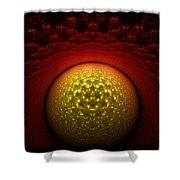 Journey To The Center Shower Curtain
